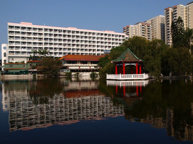 暨南大学明湖